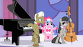 Musician ponies look at Pinkie Pie S1E26.png