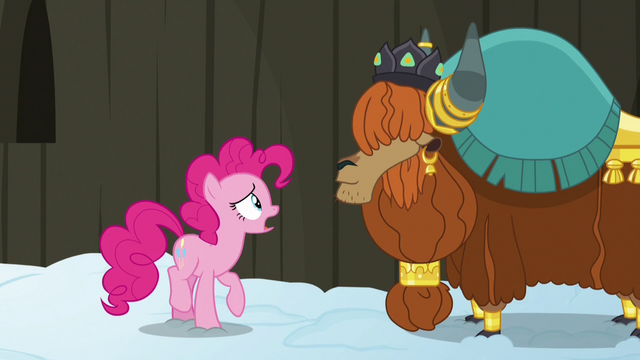 """File:Pinkie Pie confused """"yak not?"""" S7E11.png"""