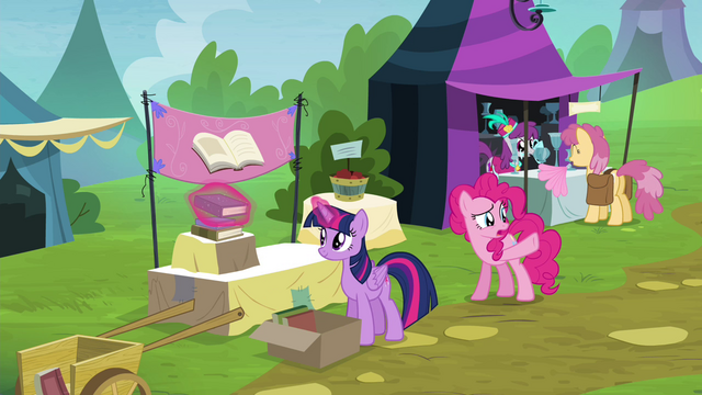 File:Pinkie Pie pointing toward royal box seats S4E22.png