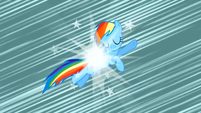 Rainbow Dash loses her wings S2E01