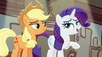"Rarity ""it was just a few costumes"" S5E16"