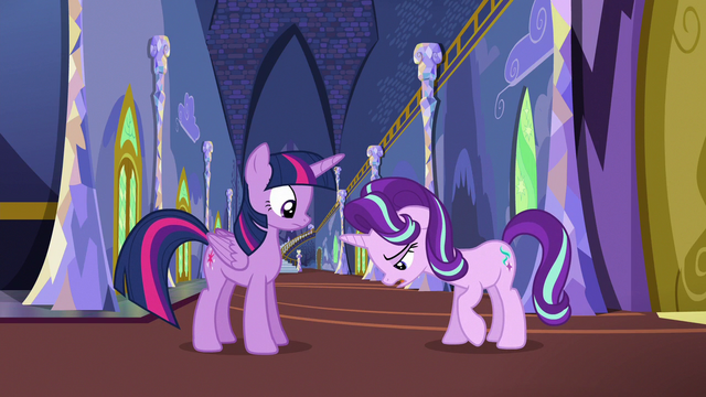 "File:Starlight Glimmer ""not great, actually"" S6E25.png"