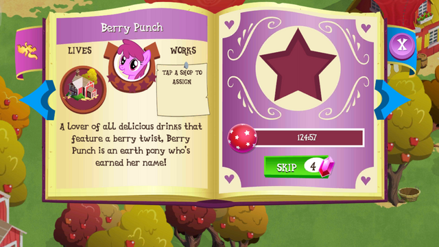 File:Berry Punch album page MLP mobile game.png