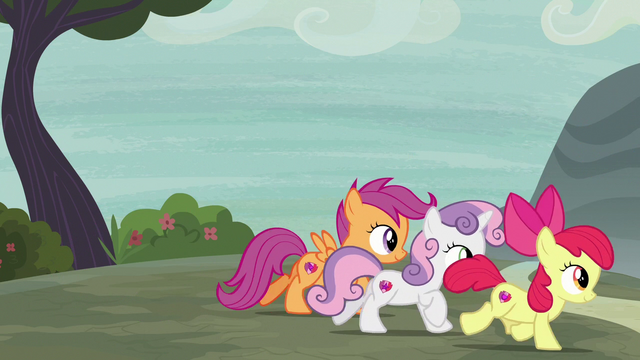 File:Cutie Mark Crusaders follow Big McIntosh S7E8.png