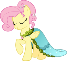 FANMADE Fluttershy dress