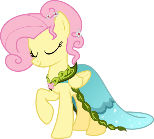 File:FANMADE Fluttershy dress.png