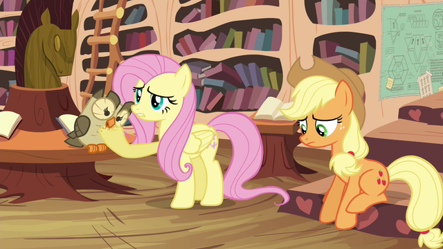 """File:Fluttershy """"should have just pretended"""" S4E18.png"""