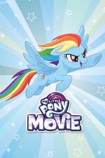 MLP The Movie Rainbow Dash mobile wallpaper