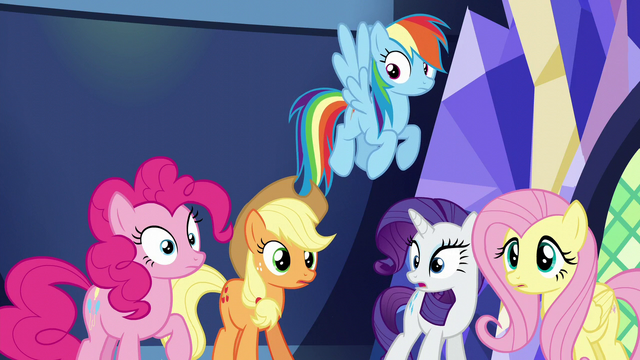 File:Main five hear Twilight's outburst S5E22.png