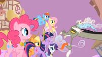 Main ponies Discord Annoyance S2E2