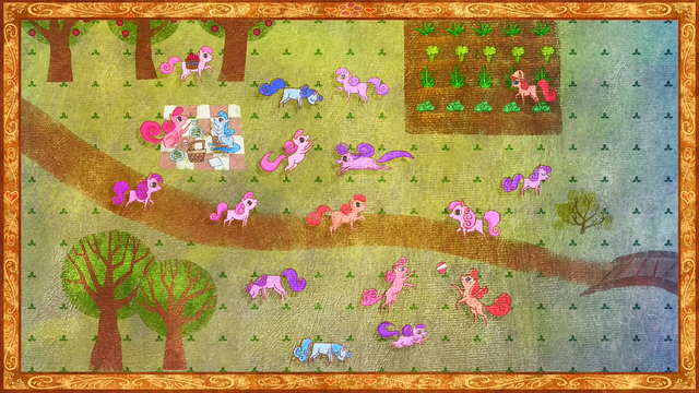 File:Ponies playing in Daytime S01E01.png