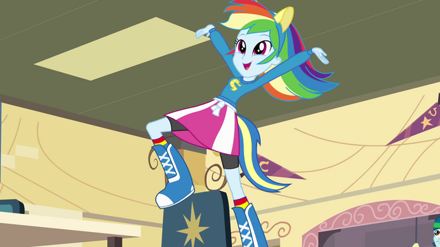 File:Rainbow Dash on top of a chair EG.png