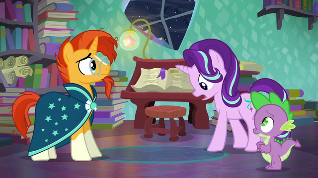 """File:Starlight """"Shining Armor and Cadance's baby"""" S6E2.png"""