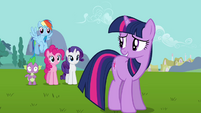 "Twilight relieved ""if he gets out of hand"" S03E10"