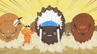 Buffalo rush Appleloosa S01E21