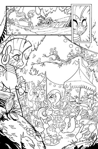 File:Friends Forever issue 5 preview uncolored.jpg