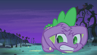 Spike shielding himself S4E07