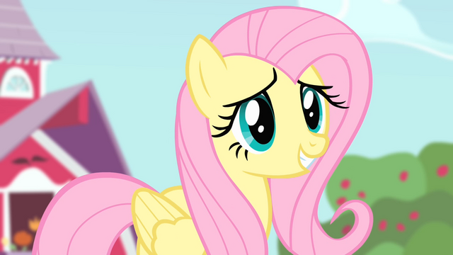 File:Fluttershy 'let them have part of the orchard' S4E07.png