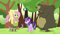 Starlight, Fluttershy, and animal friends S5E26