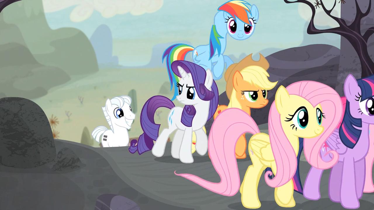 Rainbow Dash animation error S5E1