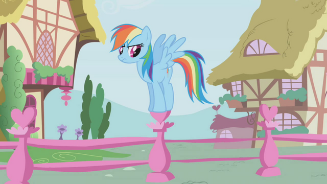 File:Rainbow Dash waiting impatiently S01E04.png