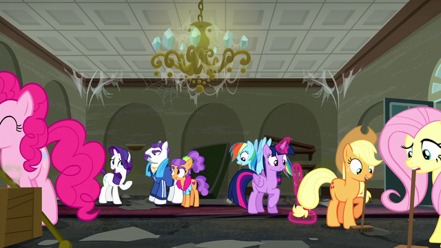 "File:Rarity ""I'm dreadfully busy preparing for tonight's grand opening"" S6E9.png"