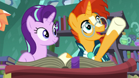 "Sunburst ""an object that was lost in the past"" S7E1"