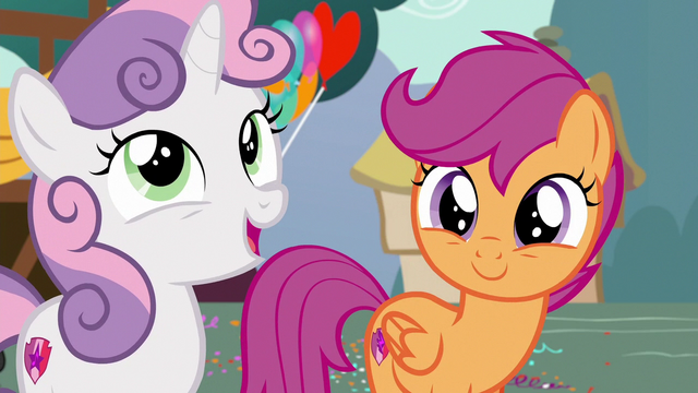 "File:Sweetie Belle ""even though things looked bleak"" S6E19.png"