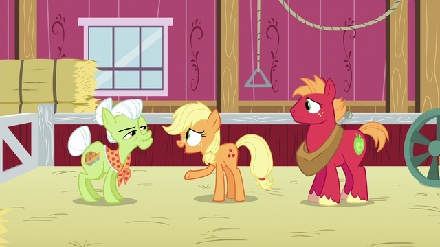 "File:Applejack ""you're needed at the hospital"" S6E23.png"