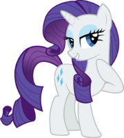 FANMADE Rarity vector by almostfictional