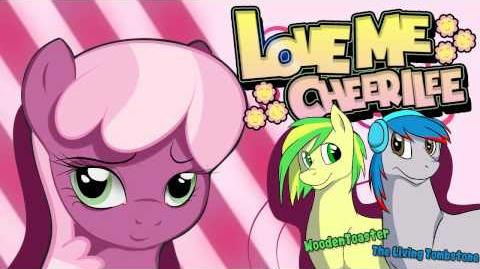 Love Me Cheerilee WoodenToaster The Living Tombstone