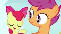 "Apple Bloom ""I think it's my broccoli thing"" S7E8"