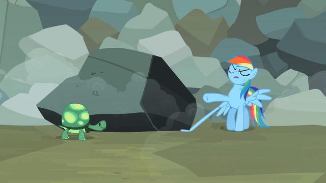 "File:Rainbow Dash ""Annoying turtle in the world"" S2E07.png"