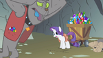 Rarity but I thought S1E19