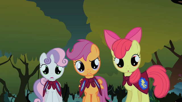File:Scootaloo 'Two chickens?' S1E17.png