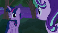Thorax reciting Twilight Sparkle's speech S6E25