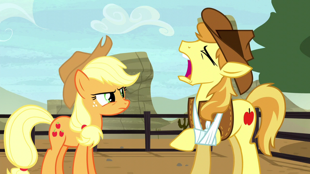 File:Braeburn feigning pain S5E6.png