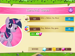Carnival Games objectives MLP Game