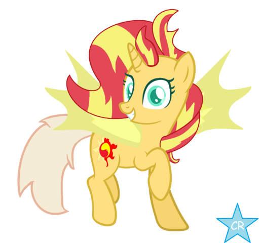 File:FANMADE DayDream Shimmer (Ponified Vector).png