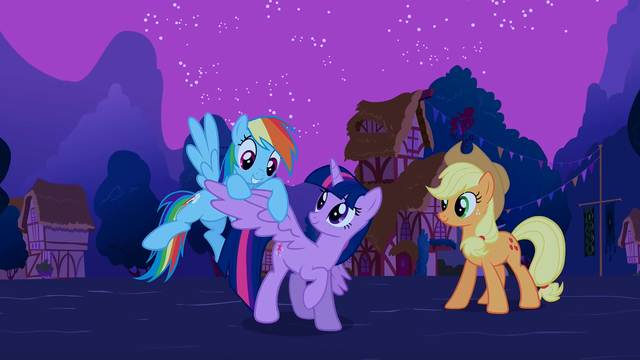 "File:Rainbow ""Twilight's got wings!"" S3E13.png"