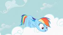 Rainbow Dash extended neck S2E8