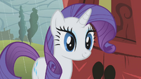 Rarity is happy S1E8
