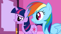 Twilight not laughing stock S1E14