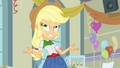 Applejack gripes about Rainbow Dash EG.png
