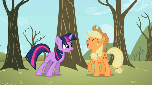 File:Applejack laughing S2E10.png