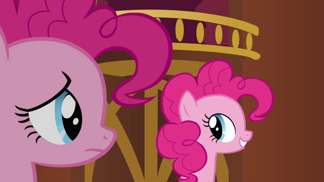 File:Pinkie Pie clone 'Bet you can't make your face' S3E3.png
