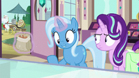 "Trixie ""might have been thinking about"" S7E2"