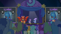 Trixie presents her great and powerful assistant S6E6