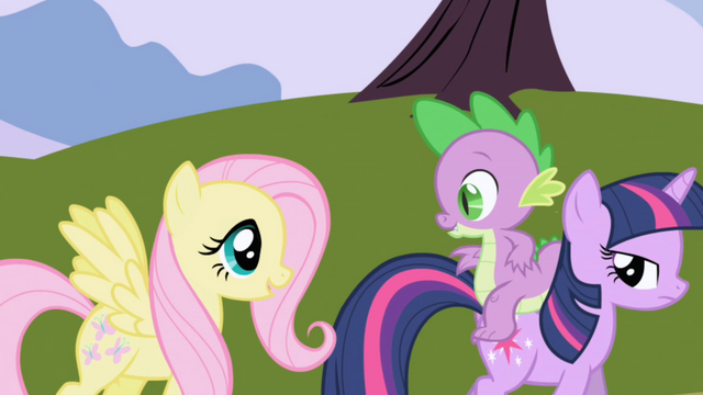 File:Fluttershy tagging along S1E01.png
