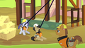 Ponies on construction site S4E12.png